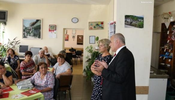 Георги Гьоков във Велико Търново: Достойни пенсии за всички пенсионери, които се осъвременяват всяка година