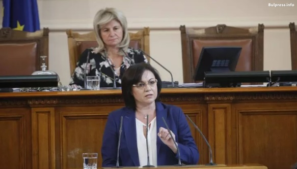 Корнелия Нинова: Покровителите на Гинка Върбакова бъркат във вашите джобове, за да напълнят своите