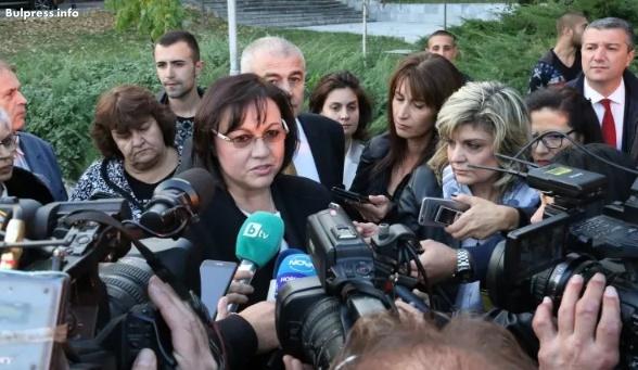 Корнелия Нинова: Думите на Борисов са по-цинични и от думите на Симеонов