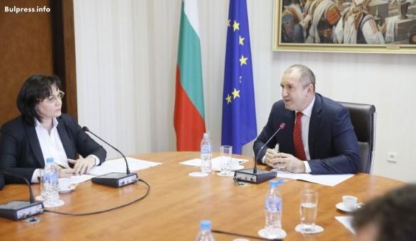 Корнелия Нинова: С президента Радев се обединихме за смяна на модела и за връщане на ролята на държавата в ключови сектори