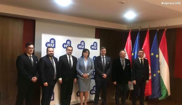 Корнелия Нинова във Вишеград: Интересите на нашите държави и общите ни виждания за Европа ни правят съмишленици и по-силни