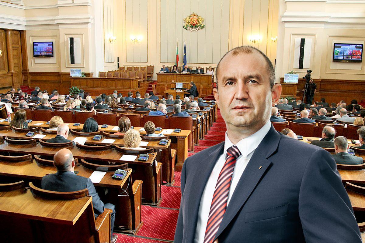 Правната комисия в НС ще разгледа ветото на президента върху промените в Изборния кодекс