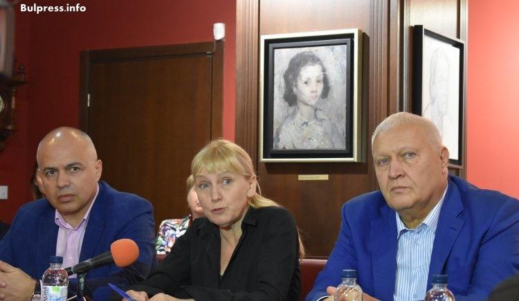 Йончева в Плевен: Заради Борисов шалтерът на българската енергетика и кранчето за газта се държат от Анкара