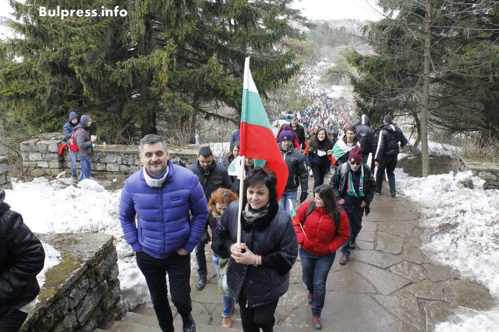 Кирил Добрев и Корнелия Нинова на Шипка днес с пламенни думи за Българският народ!