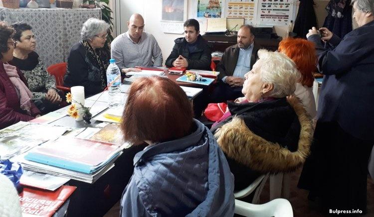 БСП – Бургас проведе среща със сдружение - Диабетни грижи