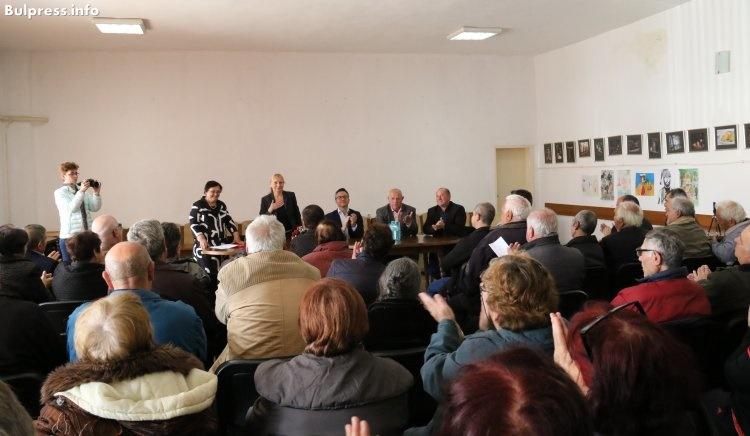 Елена Йончева в Елхово: За да започнем възстановяването на България, БСП трябва да спечели тези избори