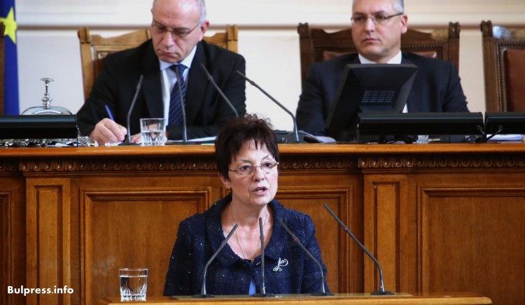 Ирена Анастасова: Борбата с корупцията е борба за живот в България