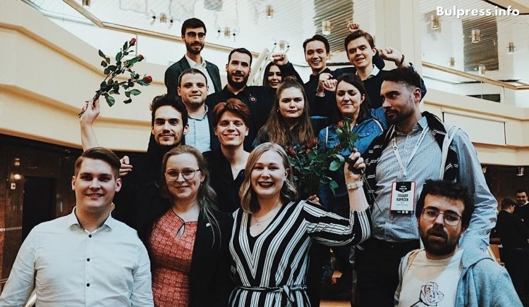 Председателят на Младежко обединение в БСП Николай Бериевски бе избран за вицепрезидент на Младите европейски социалисти