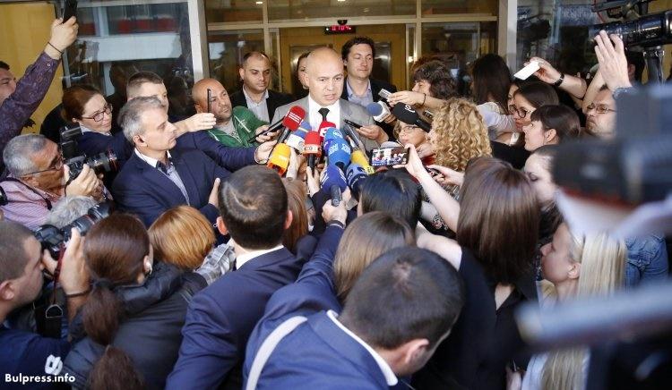 Георги Свиленски: Благодаря на всички български граждани, които днес упражниха правото си на глас