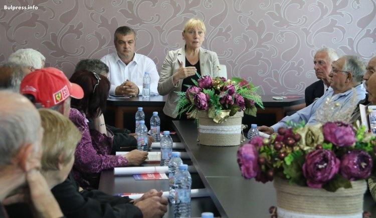 Елена Йончева в Златоград: ГЕРБ си отиват