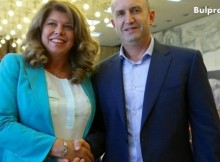 Кандидат-президентската двойка ген. Радев-Илияна Йотова сформира Инициативен комитет, председател е Стефан Данаилов (СНИМКИ)