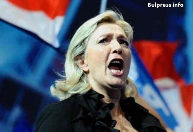 Страхотен екшън в Европарламента! Марин льо Пен разпердушини Меркел и Оланд по невиждан начин (ВИДЕО)