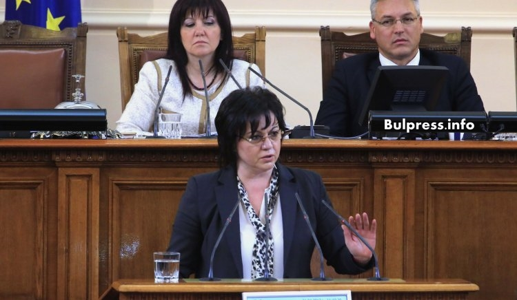 Корнелия Нинова: Аз не съм Бойко Борисов, за да се меся със смс-и в решенията на служебния кабинет