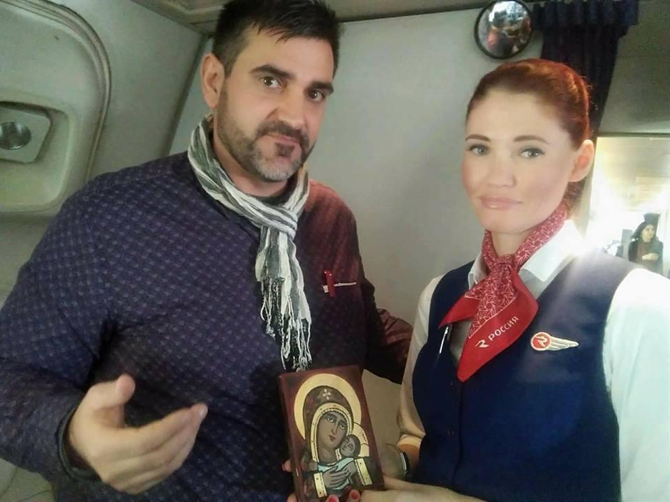 """Светлана Саприкина - стюардеса на руската авиокомпания """"Россия"""" бе избрана категорично за МИС стюардеса"""