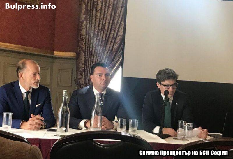 Калоян Паргов пред успели българи в Лондон: Промяната в България е неизбежна!