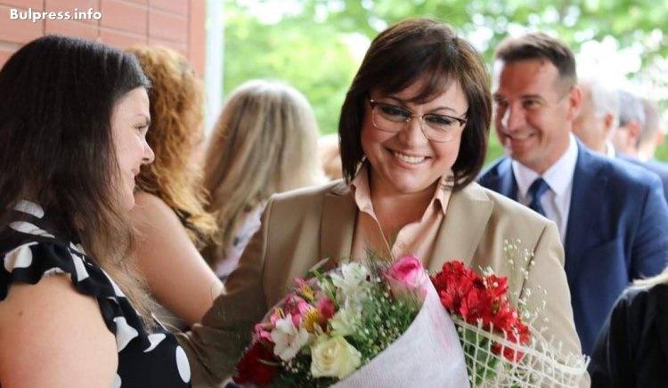 Корнелия Нинова: БСП е единствената партия, която е побеждавала ГЕРБ
