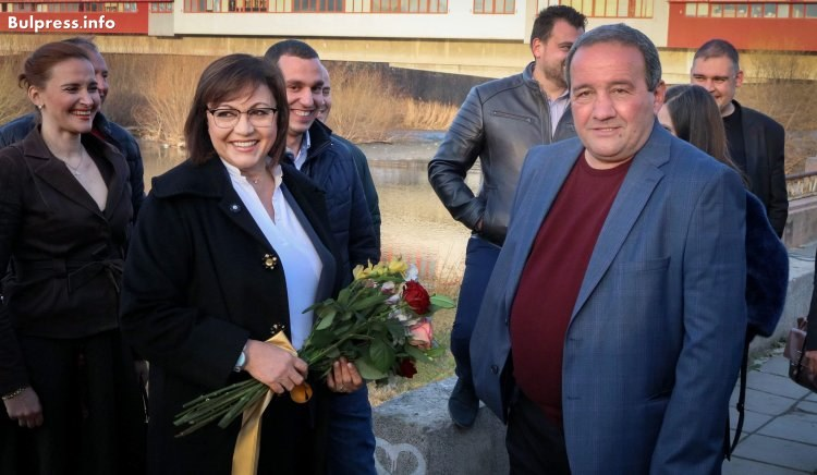 Корнелия Нинова: Мога да допринеса за промяна в Пловдив с конкретни политики и проекти