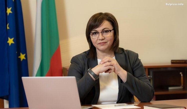 Корнелия Нинова за премиера: Вместо да се моли на Франция и Гърция за ваксини, да започва разговори с Китай и Русия, като европейските лидери